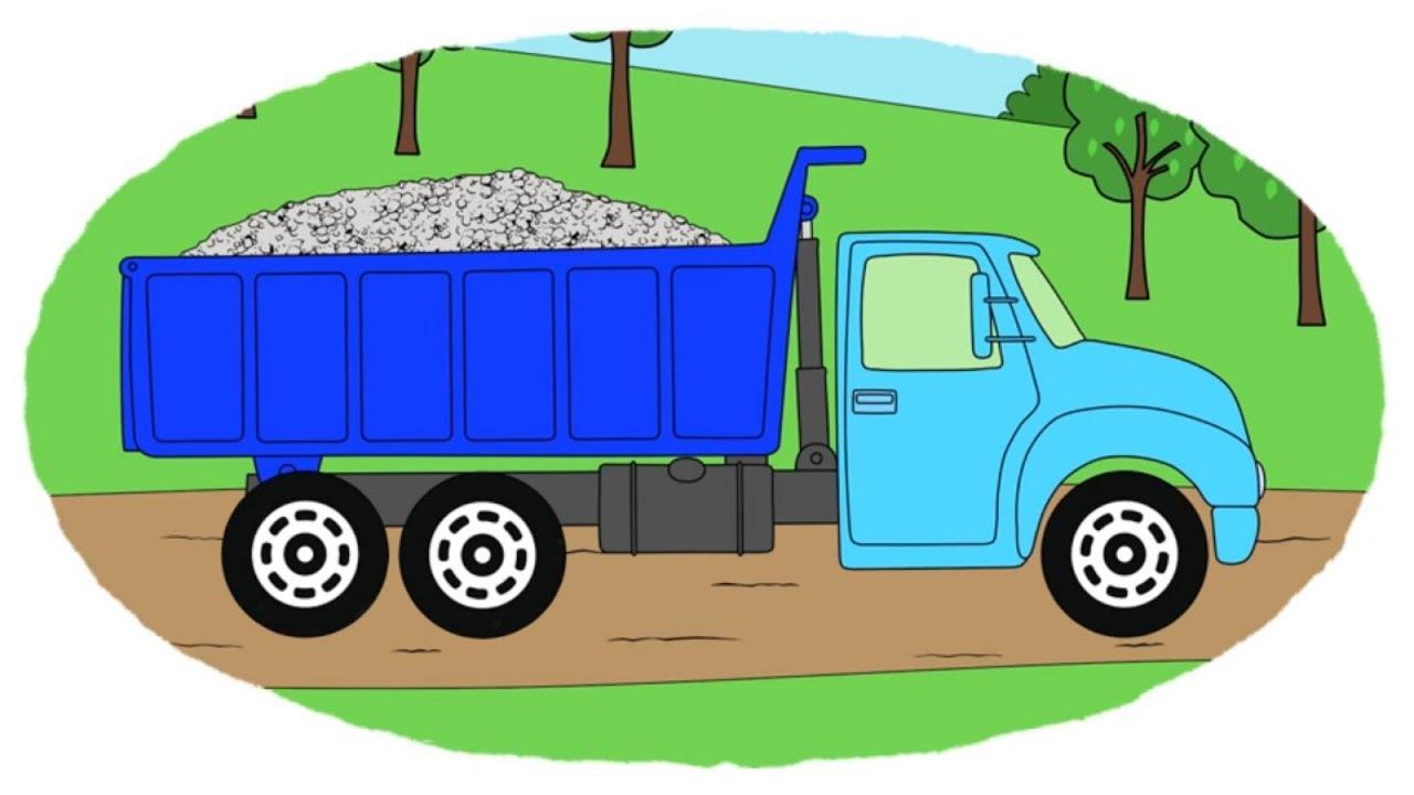 Zeichentrick-Malbuch - wie werden die Straßen gebaut - YouTube