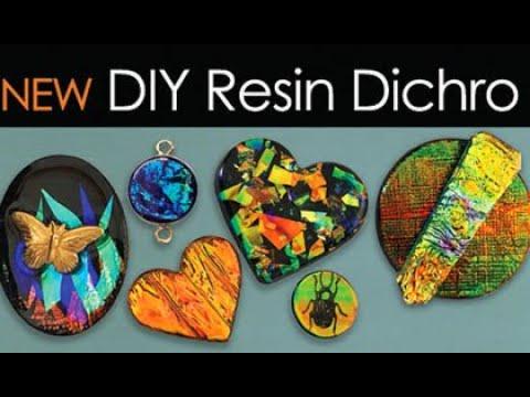 Resin Dichro Jewelry Tutorial -  little-windows.com