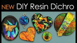Resin Dichro Jewelry Tutorial -  little-windows.com
