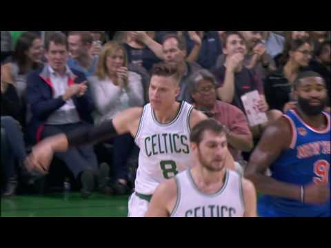 Jonas Jerebko Throws It Down on NYK