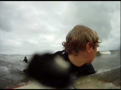 Surfing Isle of Palms South Carolina Pipeline