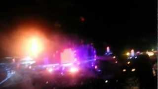 Tomorrowland 2012 Closing show by Swedish House Mafia + fireworks and lightshow !