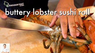 GRAPHIC: Buttery Lobster Sushi Roll | How To Make Sushi Series