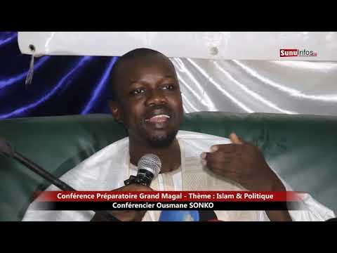 Conférence préparatoire Magal Touba - Thème: Islam & Politique - Conférencier: Ousmane SONKO