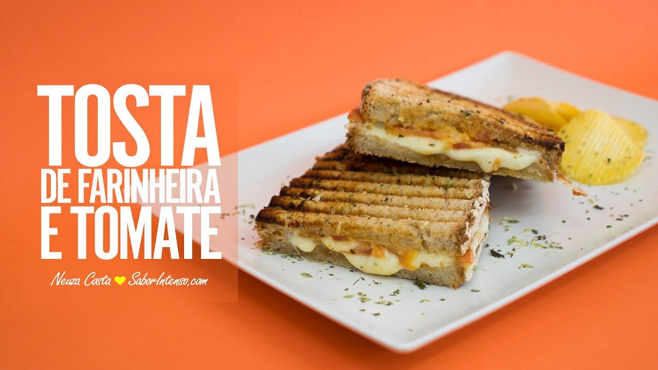 Download Tosta de Farinheira e Tomate