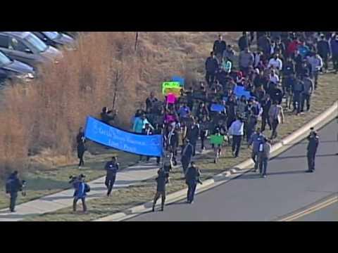 Raw: Vigil for Kansas Bar Shooting Victim