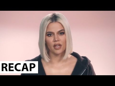 Khloe Kardashian Gives Emotional Speech To Jordyn Woods Before Cheating Scandal   KUWTK Recap