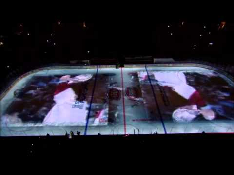 Montreal Canadiens 2014  playoff intro Game 1 Bell Center