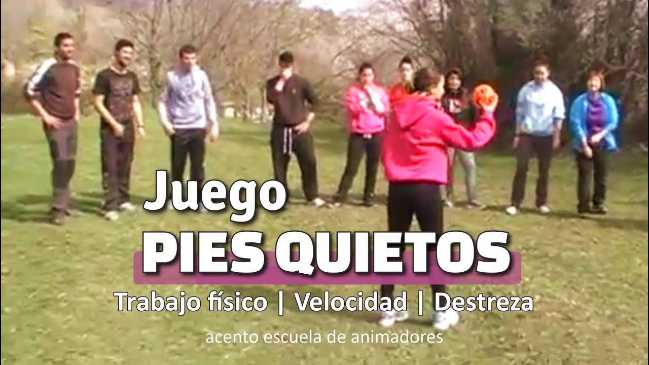 Juego Pies Quietos Con Pelota De Correr Deportivo Dinámica De Grupo Campamento Youtube