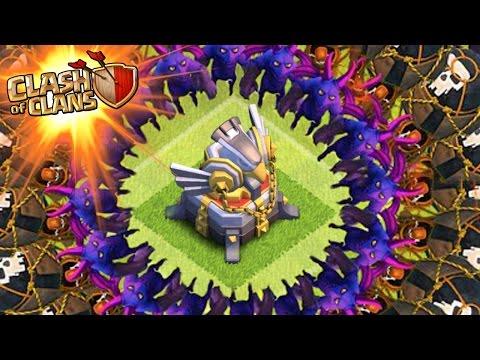 "Clash Of Clans | ""ATTACK THE EAGLE ARTILLERY!"" | Max Troops Vs Eagle Artillery! New Defense CoC!"