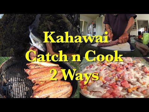 Kahawai Catch & Cook 2 Ways
