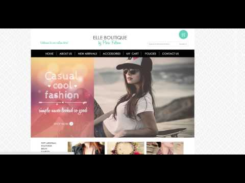 Elle Boutique Webite Designed by Lytron Web Design