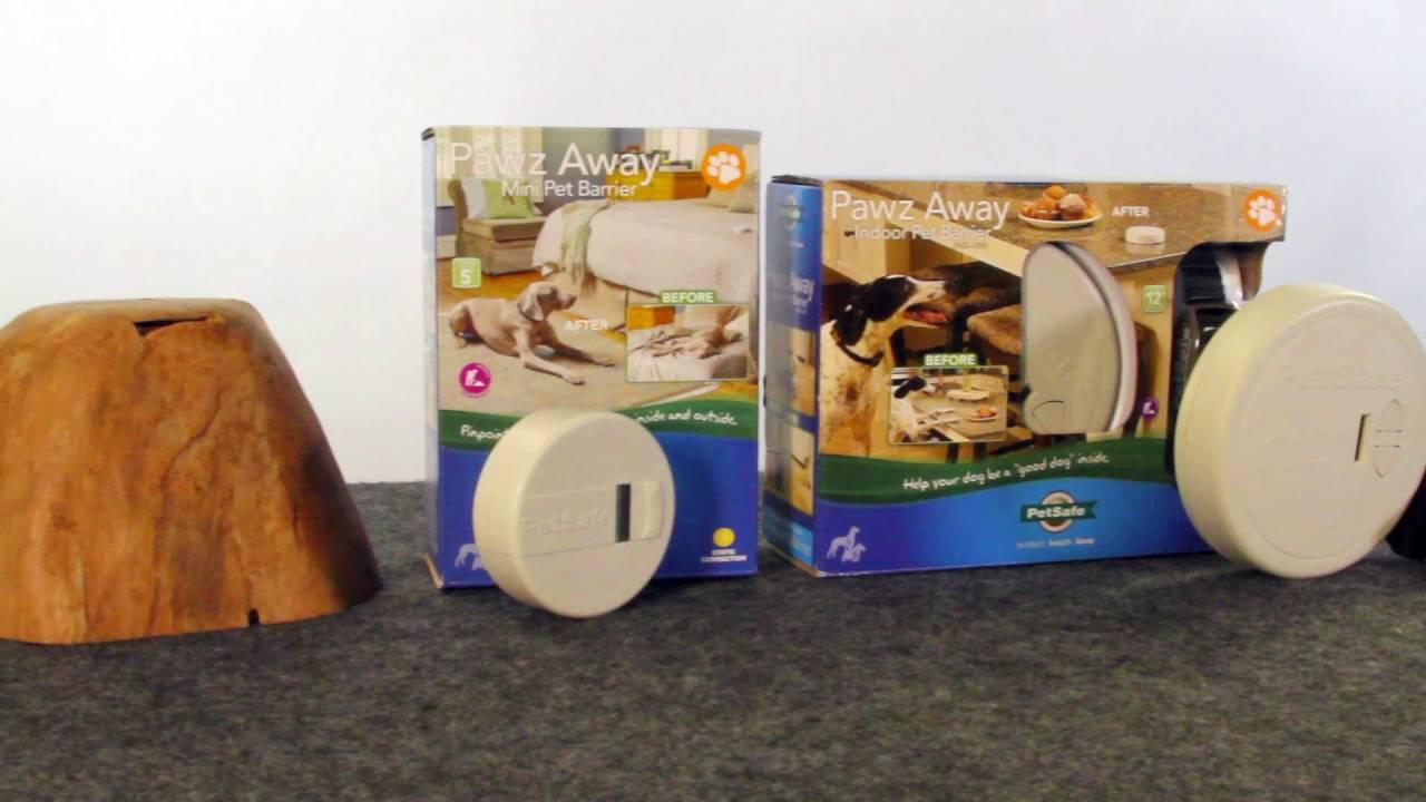 PetSafe® Before You Buy Pawz Away Mini Pet Barrier - YouTube