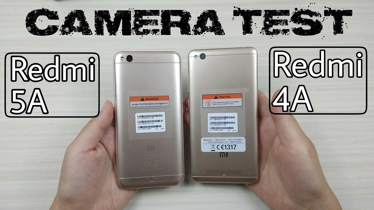 Camera Test Redmi 5A vs Redmi 4A - YouTube