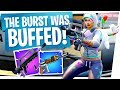 Download THE BURST RIFLE WAS BUFFED! New Best Rifle? - Fortnite New Update