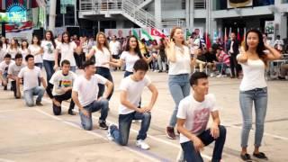 Флешмоб Казахстанских студентов в Малайзии в честь Весеннего Праздника - Наурыз [22.03.2016]