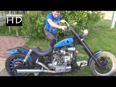 Кастом перестройка Мотоцикла за 1000 руб. Днепр 11