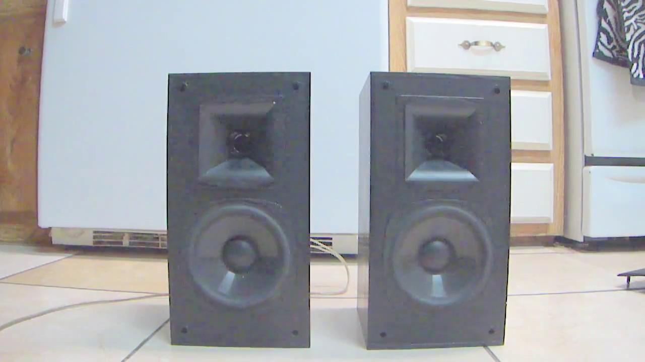 How Klipsch SB 1 Legend In Sound USA Speakers
