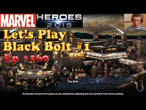 [Marvel Heroes] Let's Play Black Bolt & Medusa #1 / Photos from Taipei / Gearing Tips
