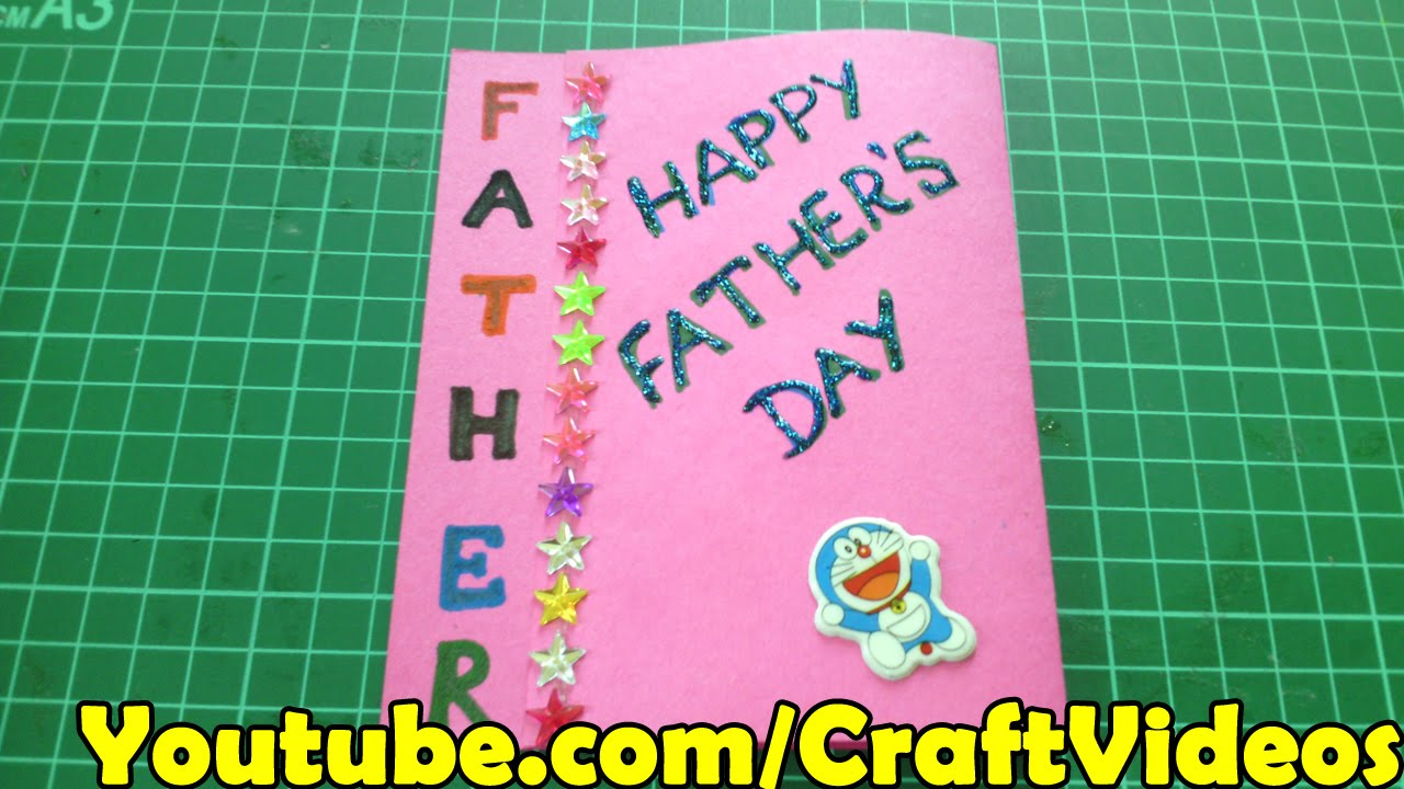 Fathers Day Easy Card Ideas For Kids And Making Tutorial