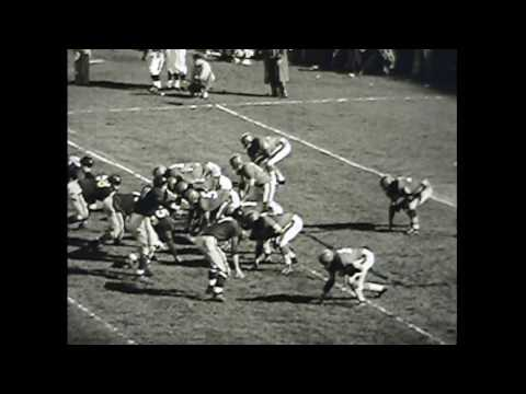 SF 49ers 1955 Highlights (no audio)