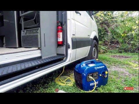 Sprinter Powered by a Portable Generator DIY RV Camper Van