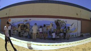 Onaga Mural-In-A-Day Hi-Speed Time-Lapse Video