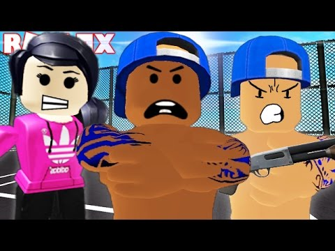 BEING GANGSTERS IN ROBLOX