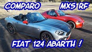 FIAT 124 ET MAZDA MX5 VRAIMENT SIMILAIRE ? #1/2