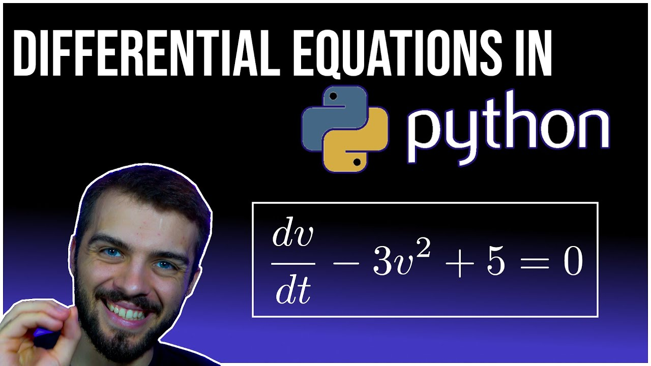 How to Solve Differential Equations in Python (Coupled+Higher Order)