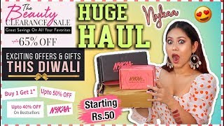 NYKAA SALE HAUL | Starts Rs.50 Only! Cheapest & BEST SALE DEALS ThatQuirkyMiss