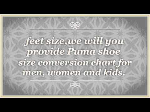 Puma Shoe Size Chart