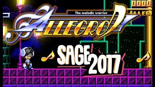 Allegro: El guerrero Melodico Demo Gameplay (SAGE 2017)