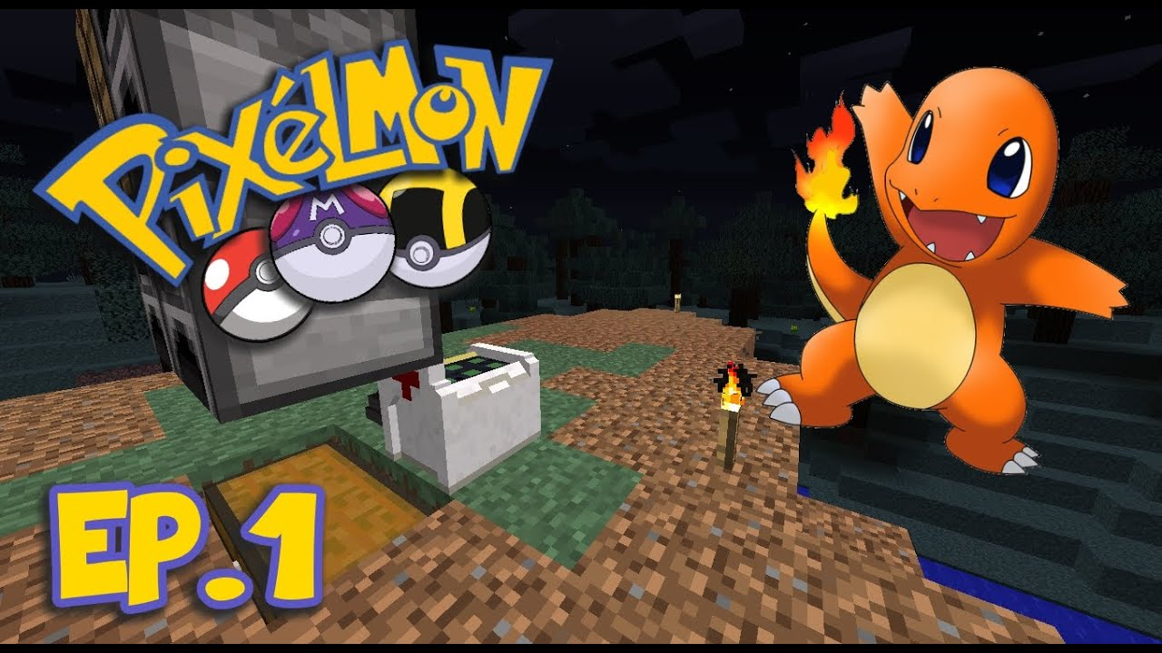 Pixelmon gold charmander ep 1 youtube - Pixelmon ep 1 charmander ...