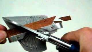Leistenschneider Modellbau Easy Cutter.avi