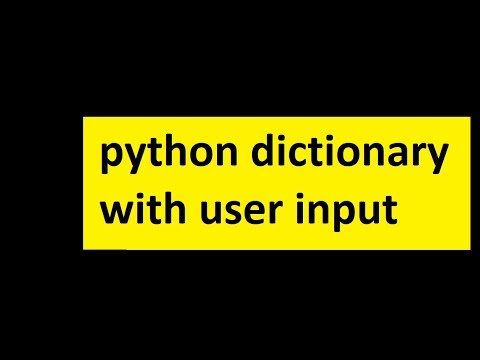python tutorial beginners | python tutorial | dictionary in python | python 3.7 thumbnail