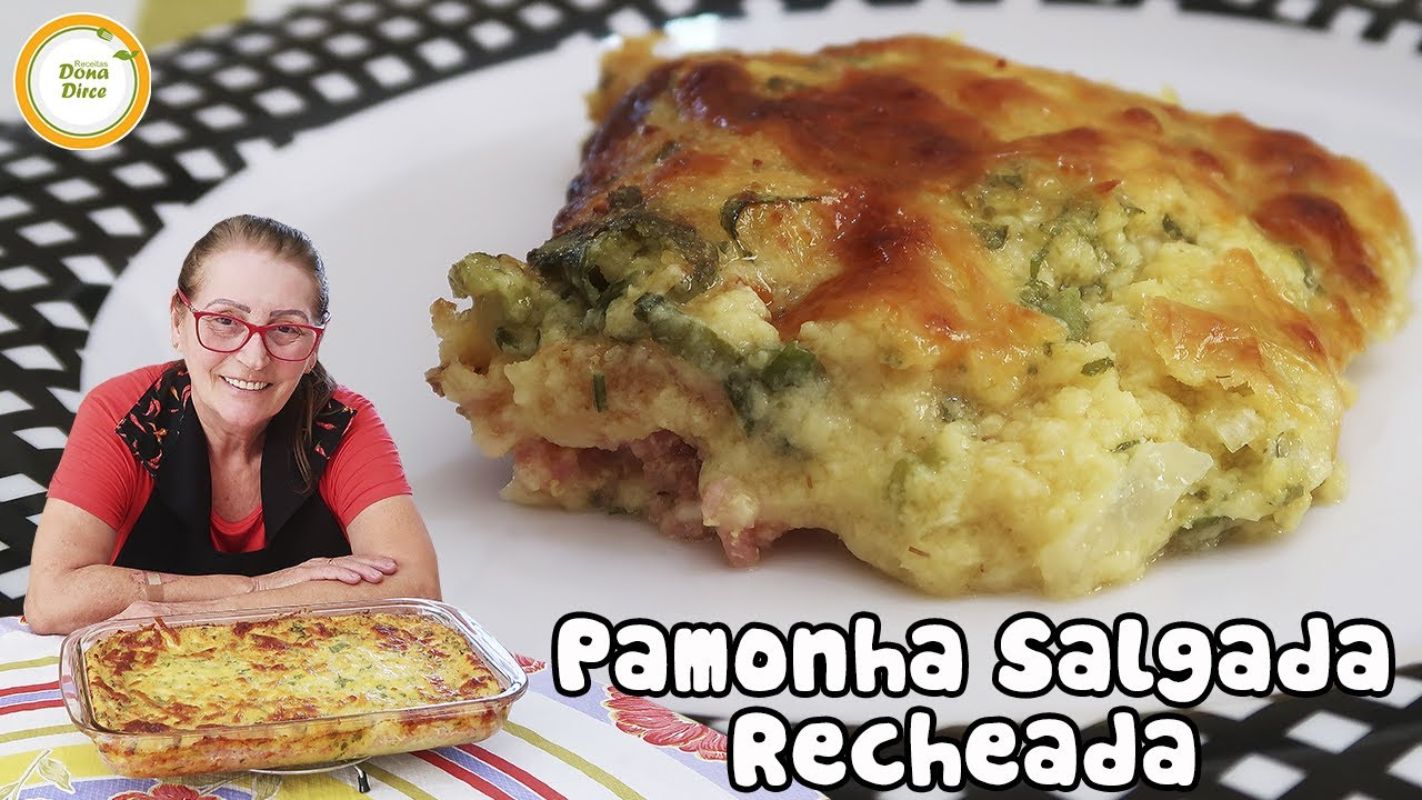 FESTA JUNINA! PAMONHA SALGADA DE FORNO! simples e fácil! #376