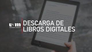 Descarga de libros digitales
