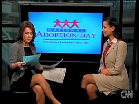 Victoria Rowell: National Adoption Day - CNN Interview