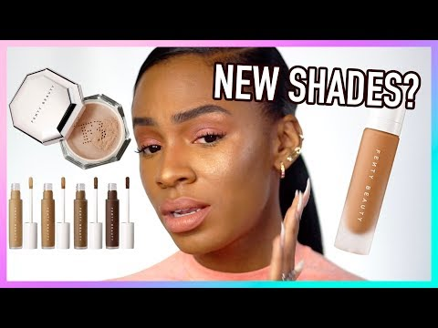 Full Face Using Fenty Beauty 2.0! NEW Pro Filt'r Concealer, Setting Powder + Foundation Shades!