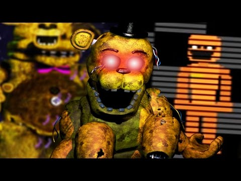 PLAYING AS GOLDEN FREDDY!   Dayshift at Freddy's 2 Part 5 (Five Nights at Freddys)