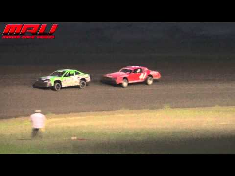 Stock Car Feature at Park Jefferson Speedway on May 23rd