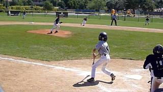 SJC Little League Double play