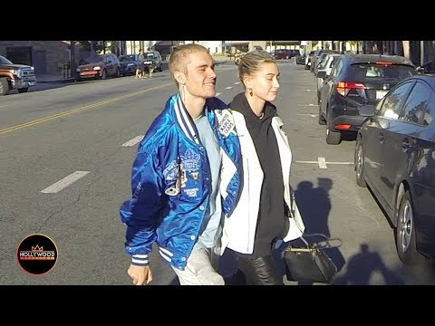 Justin Bieber Shows Off His New Haircut - Shaved Head Looks Great While Out With His Wife Hailey