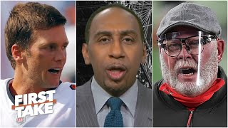 Stephen A. calls Bruce Arians 'weak' for calling out Tom Brady after the Bucs' big loss | First Take