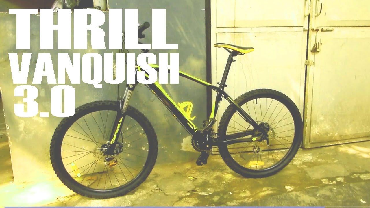 Review Sepeda Thrill Vanquish 3 0 Youtube Elite