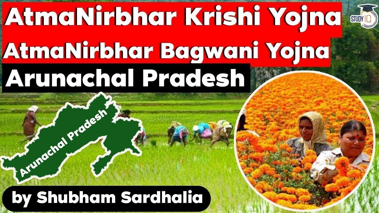 Arunachal Pradesh Government Schemes - AtmaNirbhar Krishi Yojna & AtmaNirbhar Bagwani Yojna - APPSC