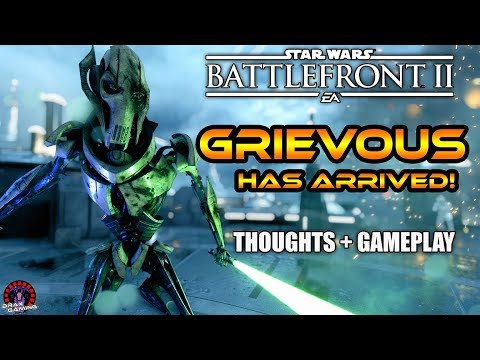 GRIEVOUS IS HERE!   Initial Thoughts + TOP SPOT HvV Gameplay   Star Wars Battlefront 2 thumbnail