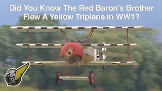 The German aviation industry only began to develop the three-winged...