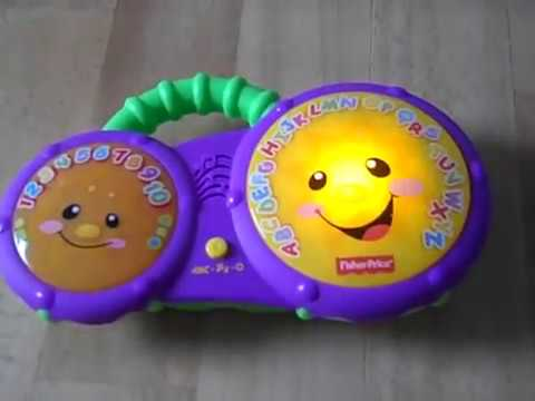 Fisher Price Laugh & Learn Bathtime Bongos Toy